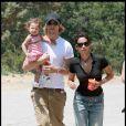 Halle Berry, son compagnon Gabriel Aubry et leur fille Nahla