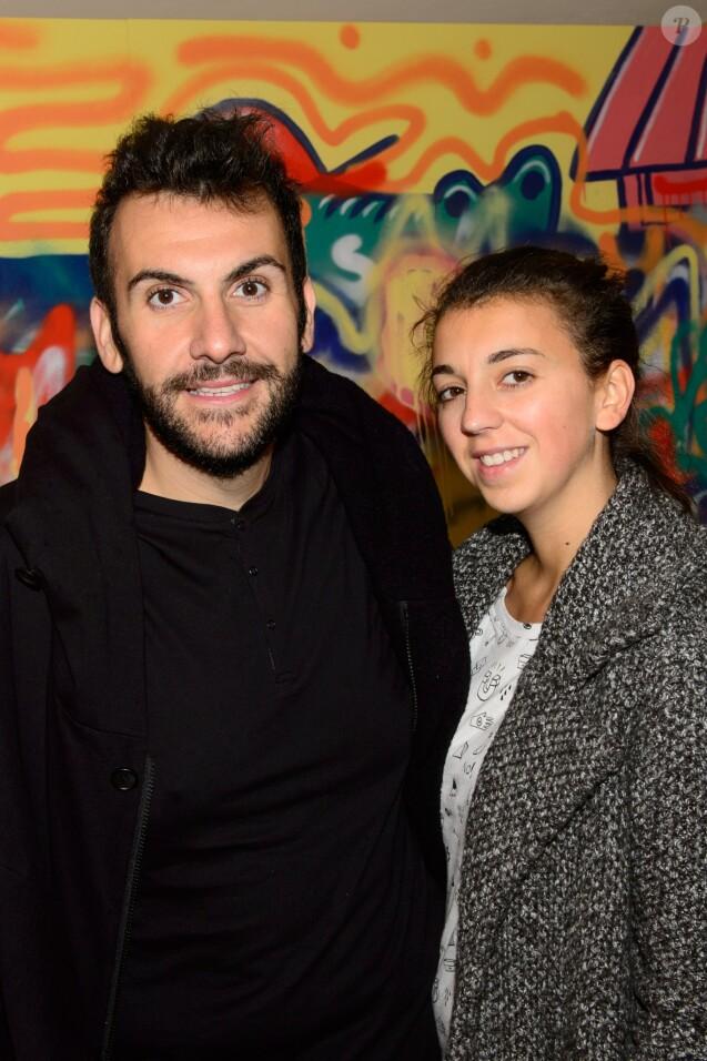 Exclusif - Laurent Ournac et sa femme Ludivine - Croco Kids Party Lacoste au Pavillon Puebla à Paris le 16 septembre 2015.