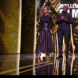 Alice Belaïdi et Lucien Jean-Baptiste - 44e cérémonie des César le 22 février 2019