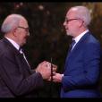 Olivier Baroux et le père de Kad Merad - 44e cérémonie des César le 22 février 2019