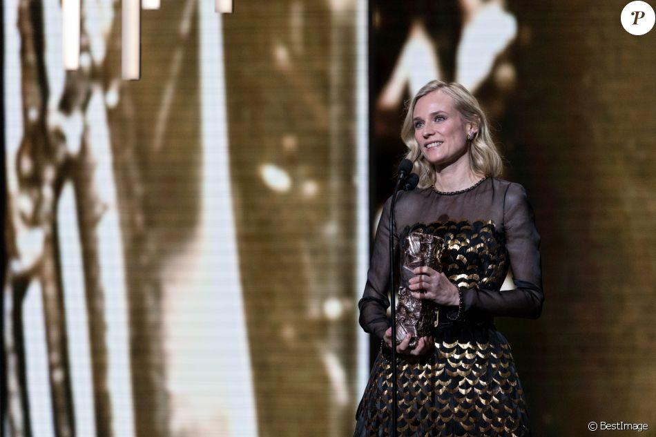 Diane Kruger - 44ème cérémonie des César à la salle Pleyel à Paris. Le 22 février 2019 © Borde-Jacovides / Bestimage