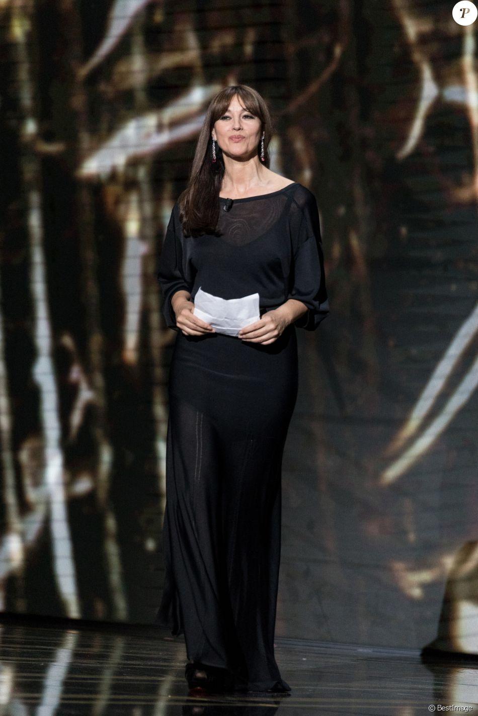 Monica Bellucci - 44ème cérémonie des César à la salle Pleyel à Paris. Le 22 février 2019 © Borde-Jacovides / Bestimage