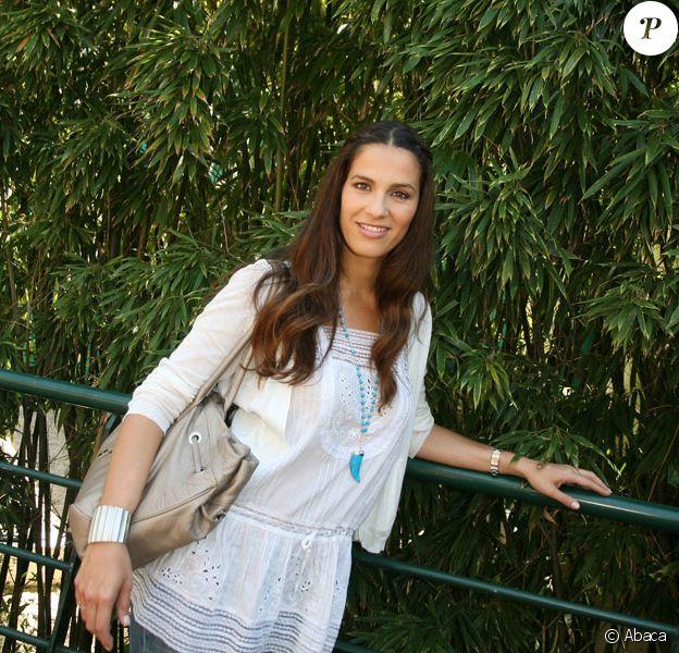 Elisa Tovati à Roland Garros, le 2 juin 2009