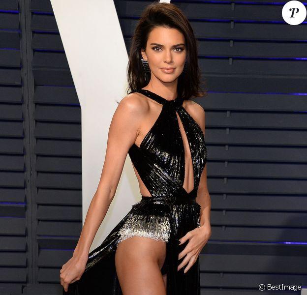 Kendall Jenner à la soirée Vanity Fair Oscar Party à Los Angeles, le 24 février 2019.