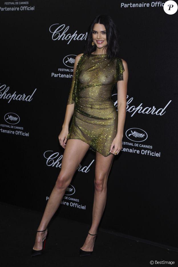 """Kendall Jenner au photocall de la soirée """"Chopard Secret Night"""" au Château de la Croix des Gardes lors du 71ème Festival International du Film de Cannes, le 11 mai 2018. © Jacovides-Borde-Moreau/Bestimage"""