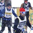 Le prince Carl Philip de Suède lors de la course Vasaloppet le 3 mars 2019. 90 km de ski qu'il a bouclés en un peu moins de 9 heures.
