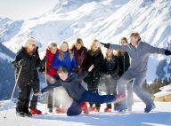 Famille royale des Pays-Bas: Tendresse et cascades pour leur séance photo au ski