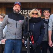 Brigitte Macron : Courte escapade au ski auprès des siens