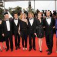 L'équipe du film Les Meilleurs Amis du monde avec notamment Julien Rambaldi et Léa Drucker, au Festival de Cannes 2010
