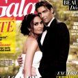 Valérie Bègue et Camille Lacourt (ici en couverture du magazine Gala du 21 août 2013) se sont mariés le 8 août 2013.