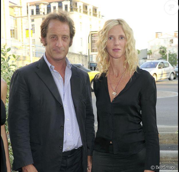 Vincent Lindon et Sandrine Kiberlain lors du Festival du film francophone d'Angoulême le 26 août 2009