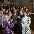 Défilé de mode Paul & Joe collection prêt-à-porter Automne-Hiver 2019/2020 lors de la fashion week à Paris, le 3 mars 2019.