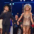 """Tina Turner assiste à la première de la comédie musicale """"Tina"""" à Hambourg en Allemagne le 3 mars 2019."""