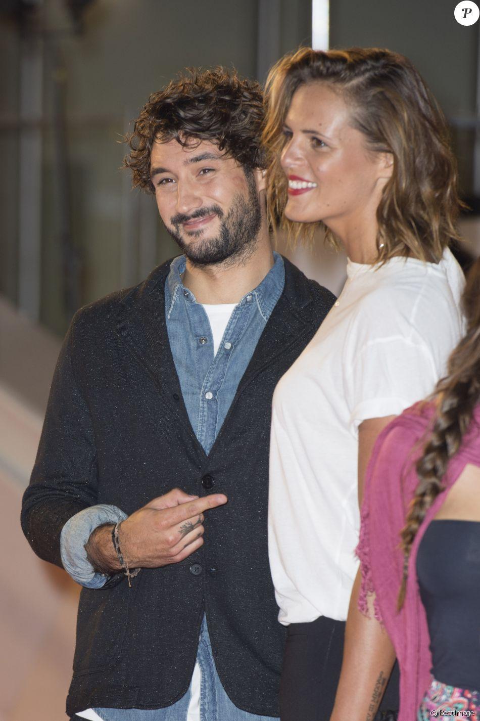 Laure Manaudou et son compagnon Jérémy Frérot - Arrivées à la 17ème cérémonie des NRJ Music Awards 2015 au Palais des Festivals à Cannes, le 7 novembre 2015.