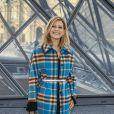 Marina Foïs - Photocall du défilé Louis Vuitton collection prêt-à-porter Automne-Hiver lors de la fashion week à Paris, le 5 mars 2019. © Olivier Borde/Bestimage