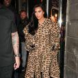 Kim Kardashian fait du shopping à la boutique Nice Piece à Paris. Le 5 mars 2019.