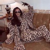Kim Kardashian : Féline et sexy à Paris