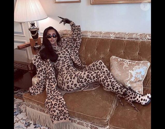 Kim Kardashian à Paris. Le 5 mars 2019.