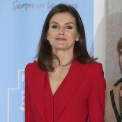 Letizia d'Espagne : Total look rouge pour une nouvelle sensation !