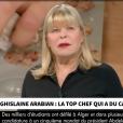 Ghislaine Arabian tacle Top Chef et ses candidats, le 6 mars 2019 sur CNews.