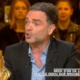"""Yann Moix prend la défense de Michael Jackson dans """"Les Terriens du samedi"""" (C8) le 9 mars 2019."""
