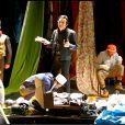 """Dick Rivers dans la pièce """"Les Paravents"""" au théâtre Chaillot à Paris en 2004."""