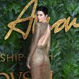 Kendall Jenner assiste aux Fashion Awards 2018 au Royal Albert Hall à Londres, le 10 décembre 2018.