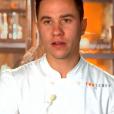 """Baptiste lors du quatrième épisode de """"Top Chef"""" saison 10, le 27 février 2019 sur M6."""