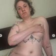 Lena Dunham pose nue sur son compte Instagram. Août 2018. L'actrice célébrait les 9 mois de son hystérectomie, acte chirurgical qui consiste à enlever tout ou partie de l'utérus.
