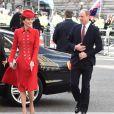 Catherine Kate Middleton, duchesse de Cambridge, le prince William, duc de Cambridge - Arrivées des participants à la messe en l'honneur de la journée du Commonwealth à l'abbaye de Westminster à Londres le 11 mars 2019.