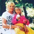 Bérengère Krief annonce la mort de sa grand-mère sur Instagram le 13 mars 2019.
