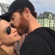 Honorine Magnier et son mari Noah - Instagram, 7 août 2017