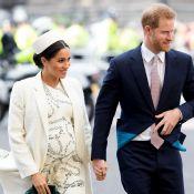 Meghan Markle et Harry main dans la main pour un discret baptême royal