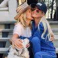 Françoise Thibaut a souhaité un joyeux anniversaire à sa fille Laeticia Hallyday sur Instagram le 18 mars 2019.