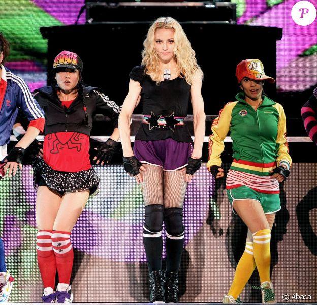 Madonna - Sticky and Sweet Tour à Göteborg en Suède, le 9 août 2009.