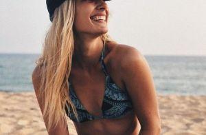 Ilona Smet topless à la plage : souvenir d'une escapade de rêve