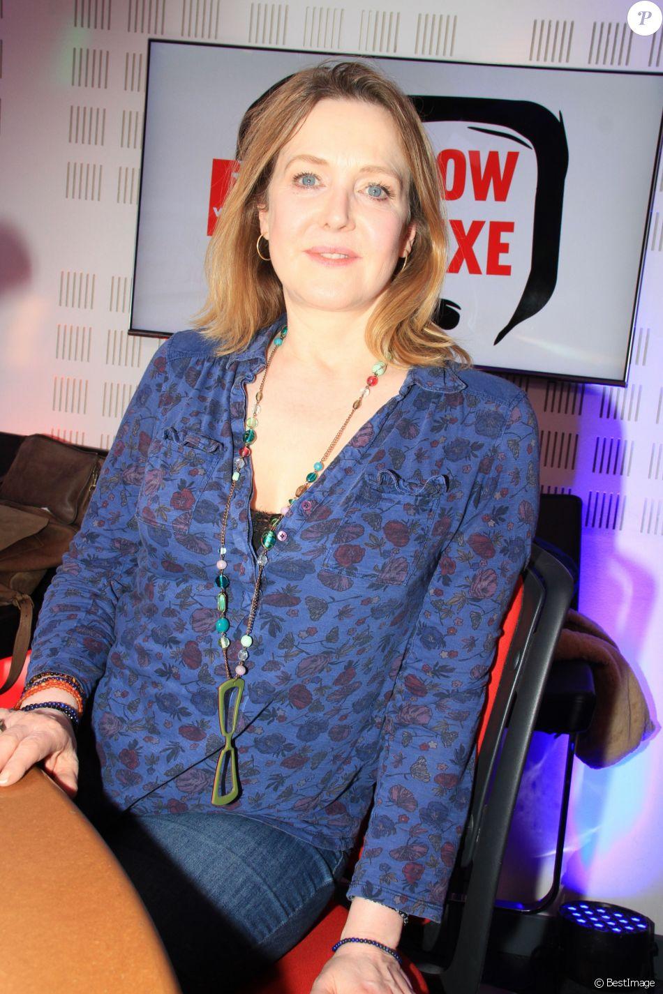 Agnès Soral lors de lémission Le Show de Luxe sur la