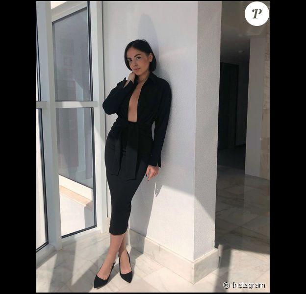 Agathe Auproux, sexy le 22 mars 2019 au Portugal.