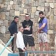 Exclusif - Adam Levine a célébré son 40e anniversaire, le 18 mars 2019, durant ses vacances en famille à Cabo, ici photographié le 17 mars 2019.