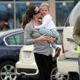 Jennifer Garner sa petite Violet profitent d'un moment en tête à tête, le 6 juin 2009