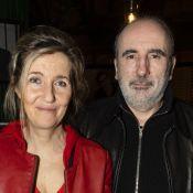 Sylvie Bourgeois et son mari Philippe Harel savourent une expo aux Deux Magots