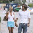 Shauna Sand et son petit ami à Miami le 7 juin 2009