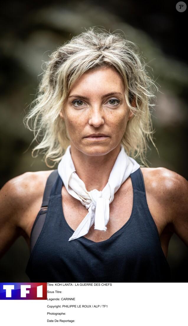 """Carinne, candidat de """"Koh-Lanta, la guerre des chefs"""", sur TF1"""