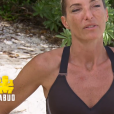 """Carinne lors du deuxième épisode de """"Koh-Lanta, la guerre des chefs"""" (TF1) jeudi 21 mars 2019."""