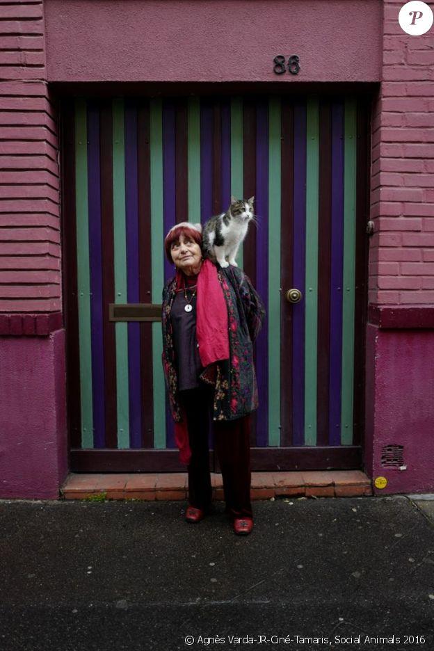 Agnès Varda dans Visages, villages