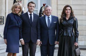 Brigitte Macron et Rania de Jordanie rivalisent d'élégance et de sourires