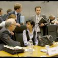 """Rachida Dati lors du conseil """"Justice et Affaires intérieures"""" au Luxembourg le 5 juin 2009"""