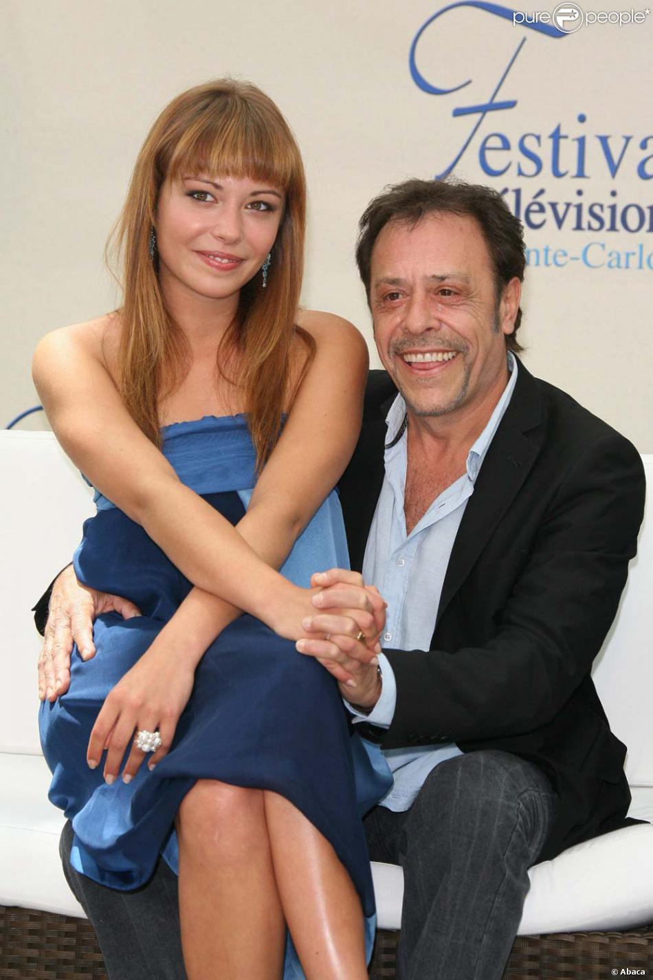 Dounia et son papa antoine coesens au 49 me festival de monte carlo le 8 juin 2009 purepeople - Helene darroze et son mari ...