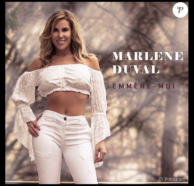 """Marlène Duval, révélée dans """"Loft Story 2"""", sort son nouveau titre """"Emmène-moi"""" le 28 mars 2019."""