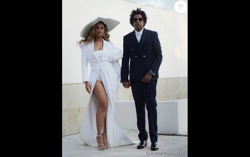 Beyoncé et JAY-Z lors des 50e NAACP Image Awards. Los Angeles, le 30 mars 2019.